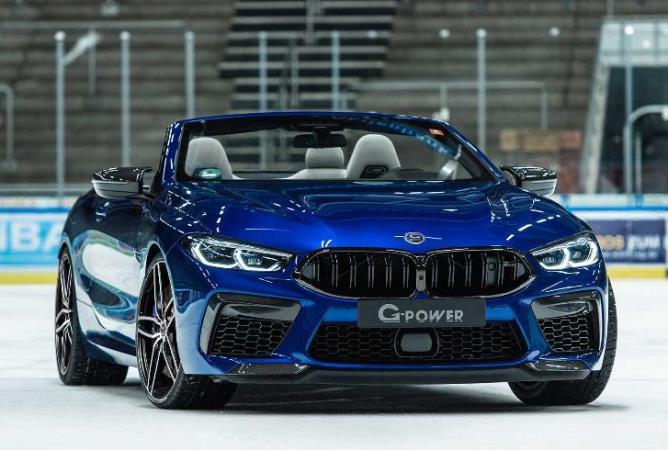 BMW M8, 820-сильный