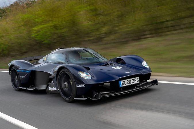 Aston Martin Valkyrie, суперкар