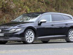 Volkswagen Arteon добрался до российского авторынка