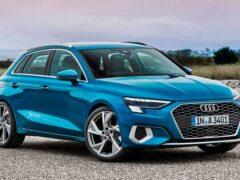 Новый Audi A3 Sportback появится в России до конца года
