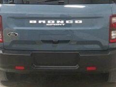 В Сеть выложили фото возрожденного внедорожника Ford Bronco Sport