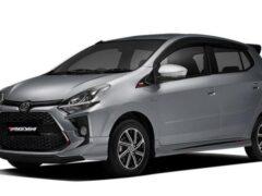 Компактный хэтчбек Toyota Agya обновился во второй раз