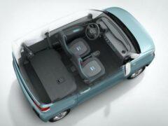 Wuling показал интерьер компактного городского электрокара EV