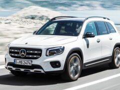 Известны рублёвые цены на новый Mercedes-Benz GLB
