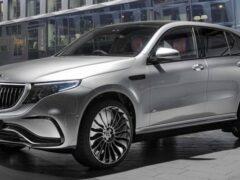 Электрический Mercedes-Benz EQC получил тюнинг в стиле Maybach
