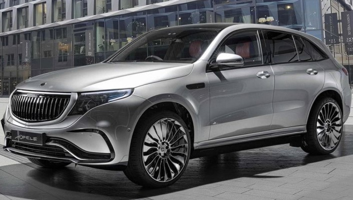 Mercedes-Benz EQC, стиль Maybach