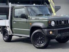 В Новой Зеландии Suzuki Jimny превратили в забавный пикап