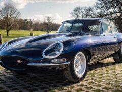 Старинный Jaguar E-Type получил 400 лошадиных сил
