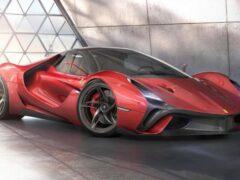 Итальянский дизайнер презентовал рендеры Ferrari Stallone