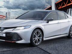 Замечено сходство дизайнов Toyota Camry S-Edition и спортверсий LADA
