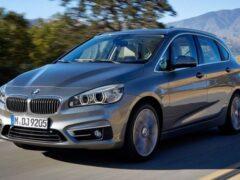 Минивэн BMW 2-Series Active Tourer II поколения дебютирует в конце года