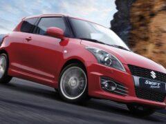 Suzuki представила гибридный хэтчбек Swift Sport