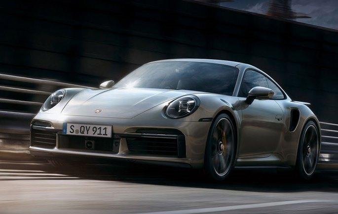 Porsche 911 Turbo S, новый