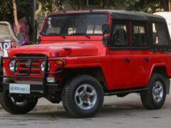 Обновленный BJ212 — аналог УАЗ-469 — вышел на рынок