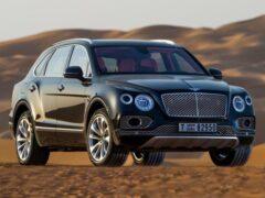 Bentley заменит флагманский седан Mulsanne большим кроссовером