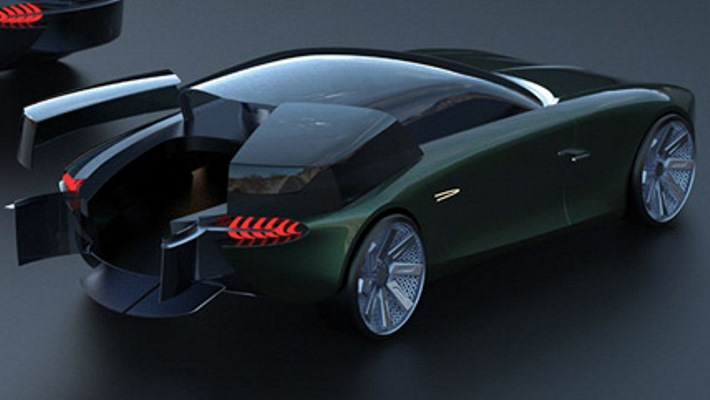 Bentley в кузове Shooting Brake