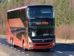 Volvo представила двухэтажный автобус-гигант 9700DD