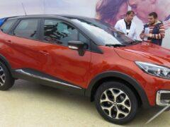 Renault обновит кроссовер Kaptur для России
