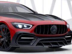 Российские тюнеры представили обвес для Mercedes-AMG GT