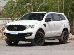 Обновленный внедорожник Ford Everest вышел в продажу