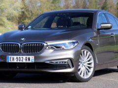 BMW представила обновленную BMW 5-Series