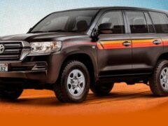 Toyota Land Cruiser получил спецверсию Heritage Edition