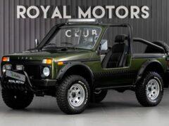 В России продают кабриолет «Нива» почти за миллион рублей