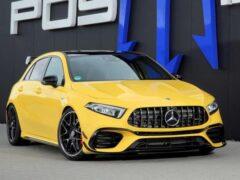 Ателье Posaidon презентовало пакет для Mercedes-AMG A45
