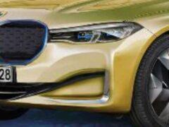 В Сети появился рендер на электрический седан BMW i7