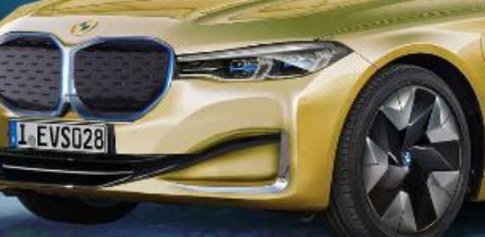 BMW i7, седан, рендер