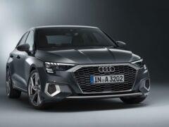 Audi представила новый седан Audi A3