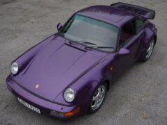 На продажу выставлен 29-летний Porsche 911 с пробегом в 500 км