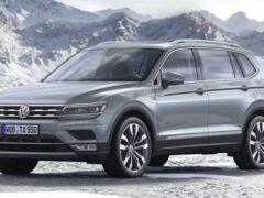 Volkswagen показал тизер нового Tiguan