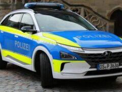 Немецкая полиция выбрала Hyundai Nexo