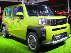Daihatsu Taft готовится к серийному производству