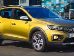 Обновленный Renault Sandero Stepway впервые показали на фото