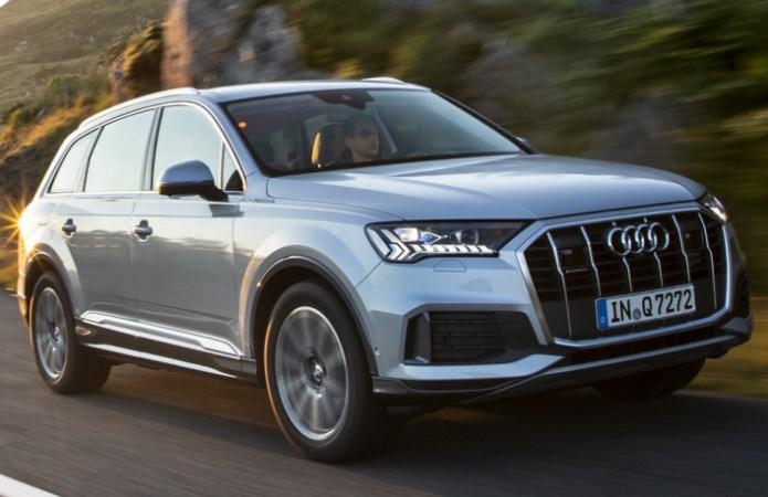 Audi Q7, обновленный