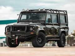 Внедорожник Land Rover Defender получил электромотор от Tesla