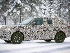 В Сети появились фотографии нового Land Rover Range Rover
