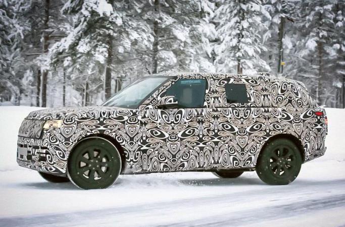 Land Rover Range Rover, новый, тест