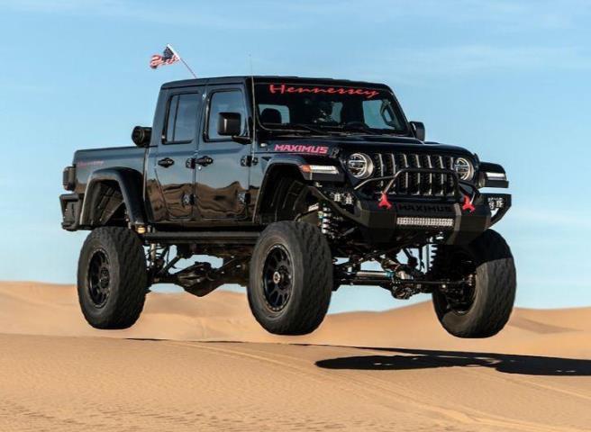 Jeep Gladiator, 1000-сильный