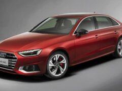 Продажи обновленного Audi A4L стартовали в Китае