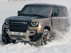 Появилась новая информация о Land Rover Defender 80