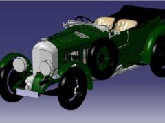 Bentley создаёт 12 копий ретро-авто
