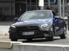 Mercedes презентует обновленные купе и кабриолет E-Class 27 мая