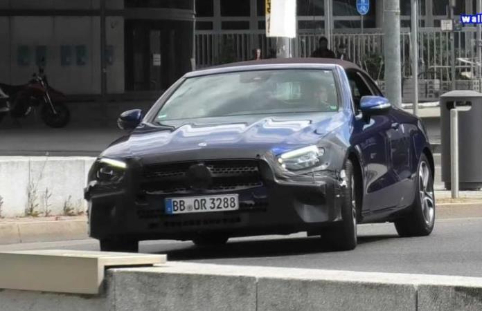 Mercedes E-Class, кабриолет