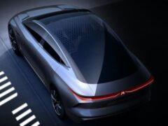 Китайская марка Roewe показала дизайн будущих электромобилей