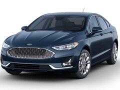 Седан Ford Fusion 2020 получил «прощальные» цвета кузова