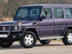Продают редкий внедорожник Puch 500 GE, версию Mercedes G-Class