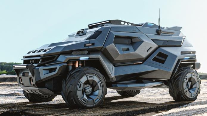 Armortruck, внедорожник, апокалипсис